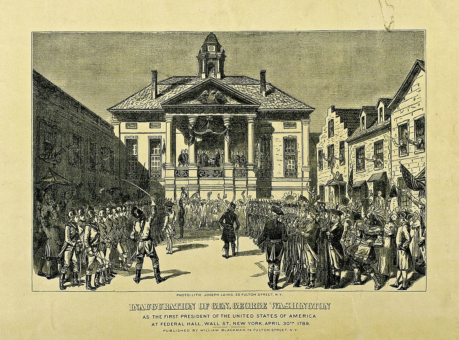 Inauguration of George Washington