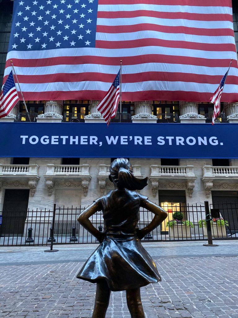 Fearless Girl, NYSE