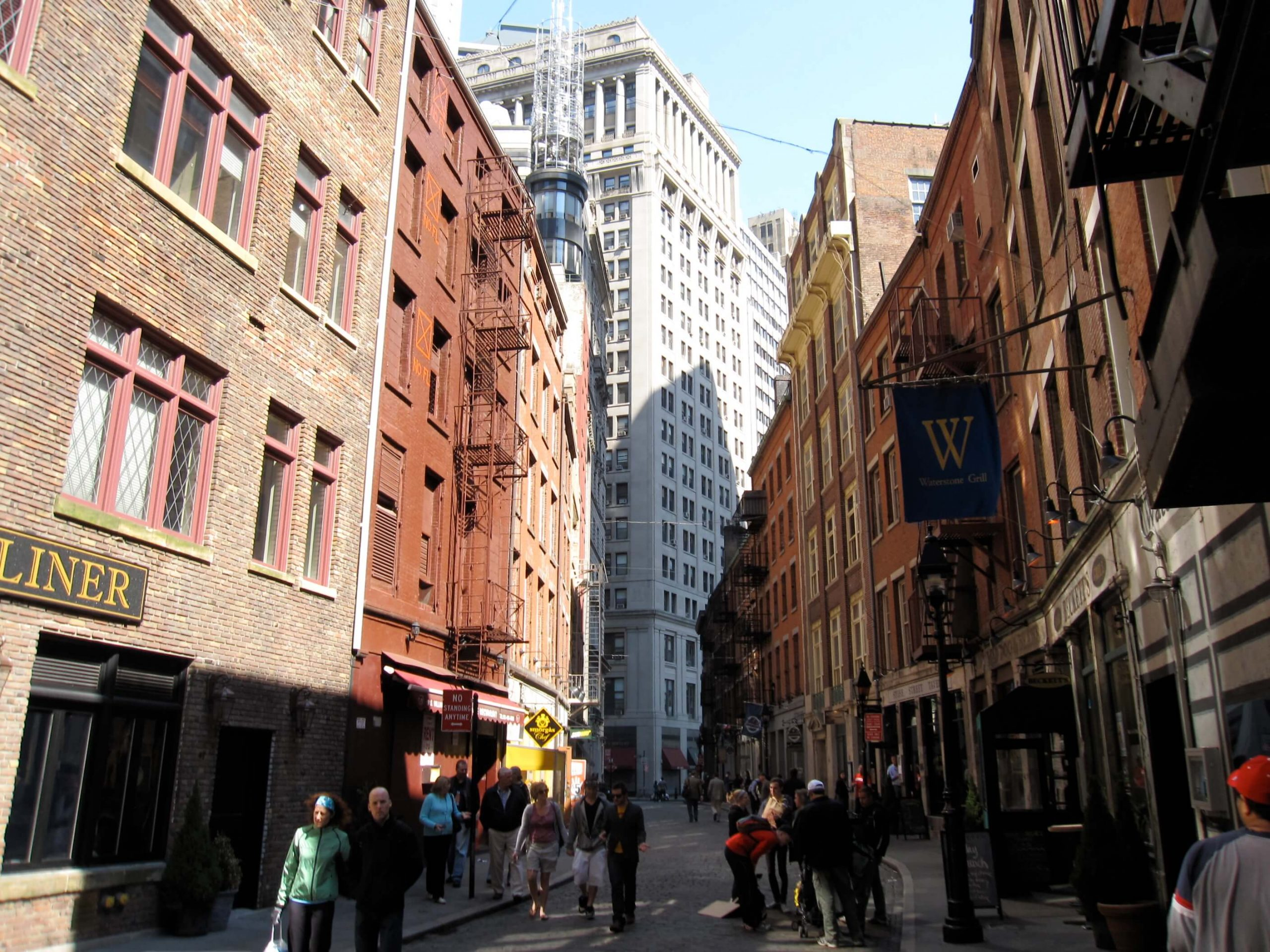 A Trip Down Stone Street: Food, Architecture, History in NYC