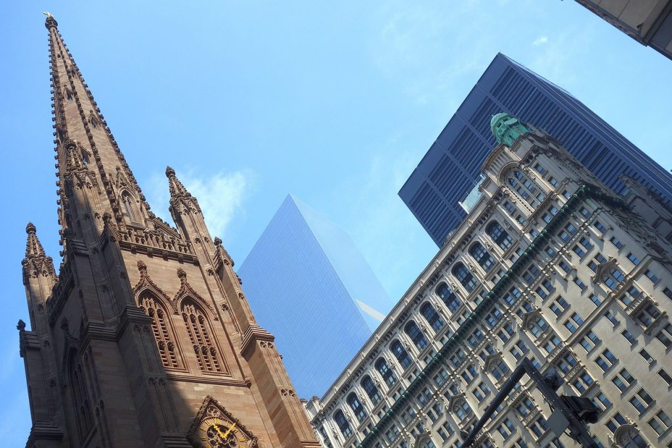 Trinity Church, Financial District