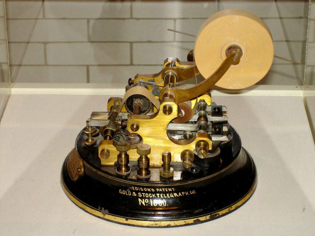 Ticker Tape Machine
