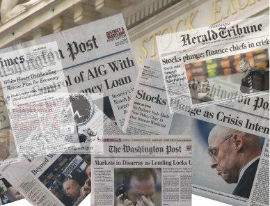 Financial Crisis headlines