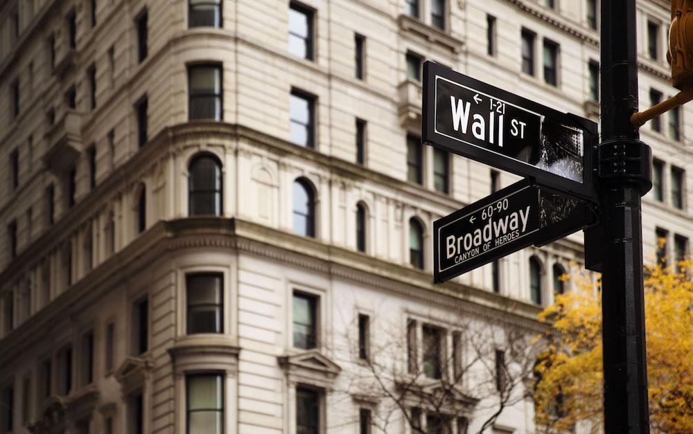 Wall Street NYC sign